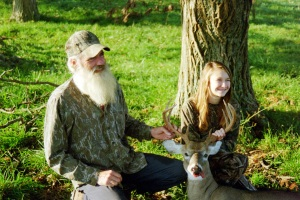 Nine-point success story - Grandpa and Victoria