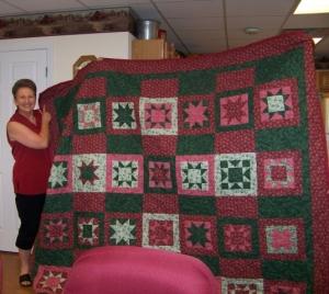 rita's first quilt