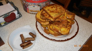 French Toast & Homemade Maple Syrup