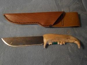 Handmade case for the knife
