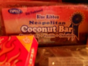 Cocoanut Bar (my personal favorite)