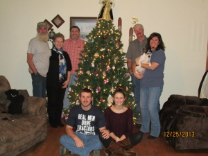 Family Christmas picture 2013