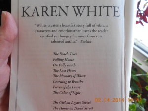 More titles authored by Karen White.