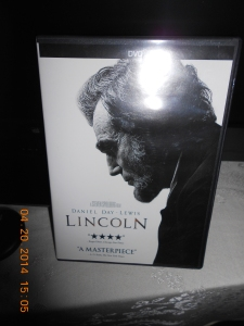 """Lincoln"" movie with Andrew Day Lewis, Sally Fields and Tommy Lee Jones."