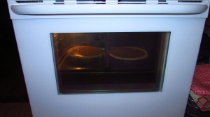 Pumpkin pies baking I can eat a whole one all by myself!!