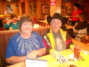 Dean and Judy at Applebees