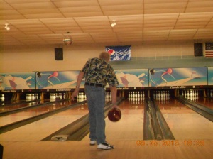 Deans turn and he rolled three strikes until another Special Olympics group arrived.