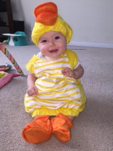 Vada is my and her Grandpa's little duck!