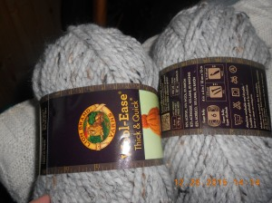 Bulky yarn for a sweater for myself!  Hope I start and finish before winter is over!