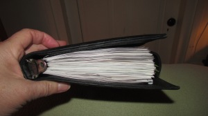The book is almost three inches thick.