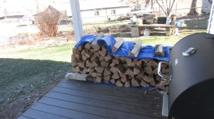 My wood pile is disappearing and I'm the only one using it!