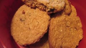 Oatmeal raising cookies 2015