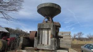 Harry Caldwell cornmeal grinder.