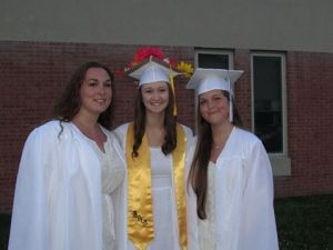 Victoria and her two best friends, Rachel and Amber.