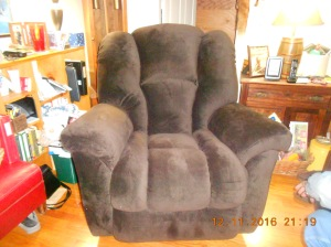 My brand new recliner!!!